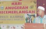 Sdr Manap Ismail, Pengerusi Pasti Kampar