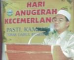 Ucapan perasmian oleh Setiausaha Pasti Perak.